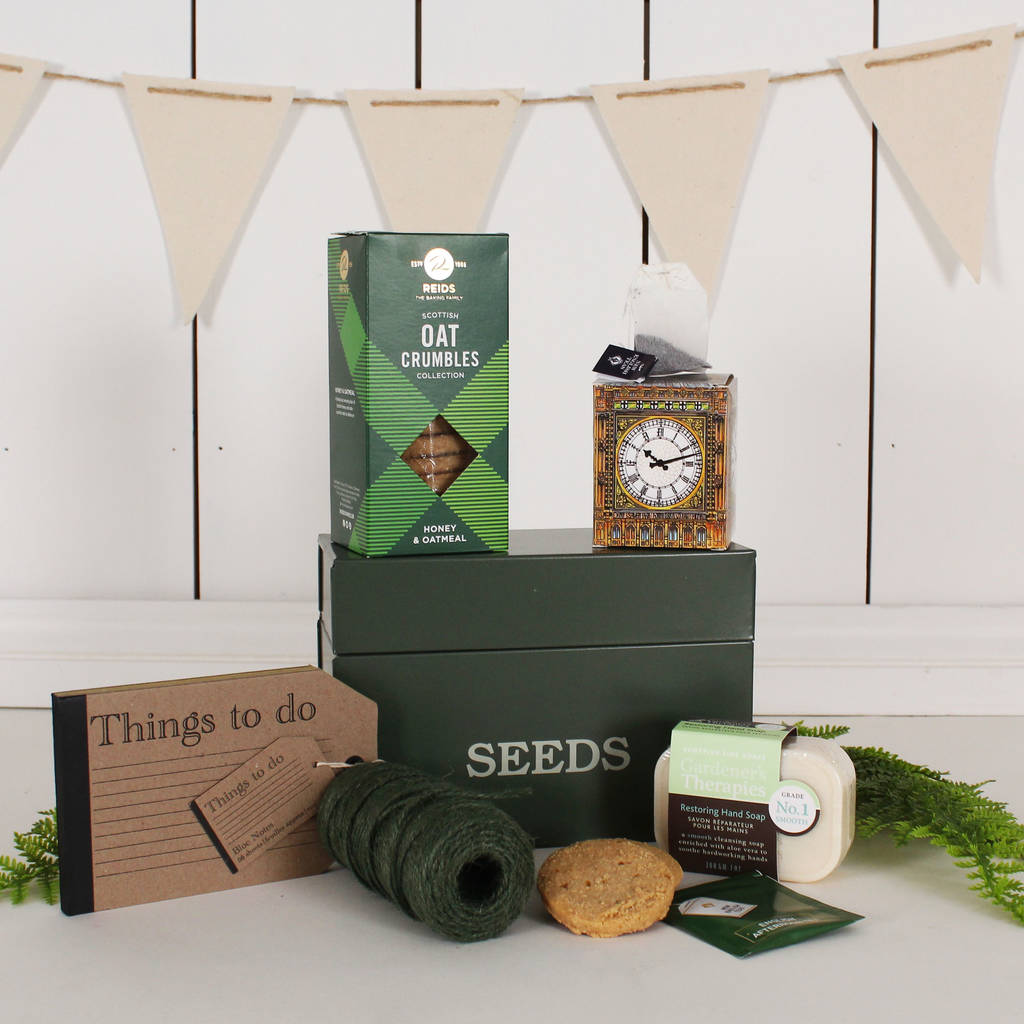 The Gardener's Shed Essentials - Gardening Gift For Dad