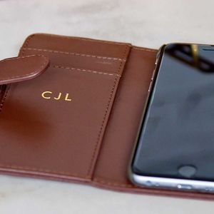 Real Leather iPhone And Samsung Case