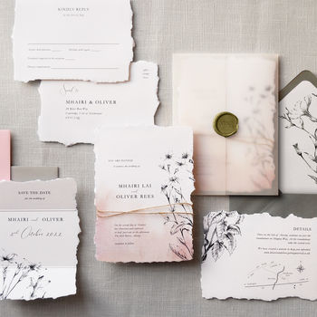 Daydream Wedding Invitation