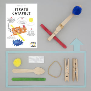 Make Your Own Pirate Catapult Kit - party bags and ideas