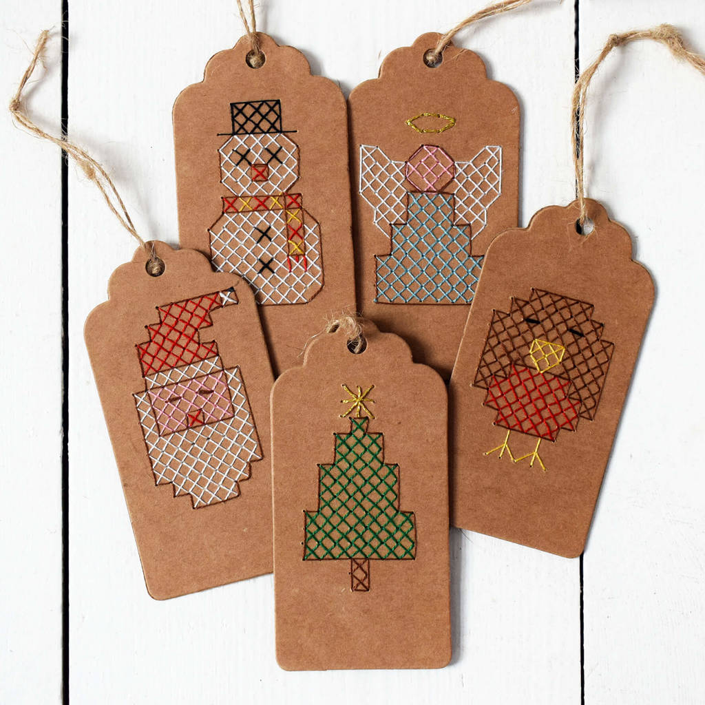 Make Your Own Christmas Gift Tags