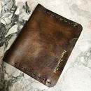 Vintage Style Passport Holder