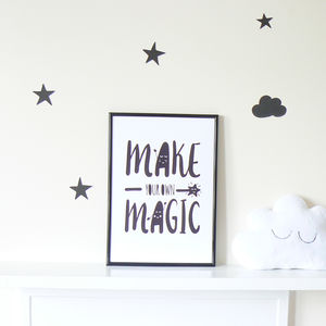 Make Your Own Magic - pictures & prints for children