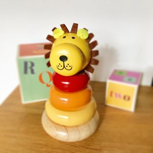 Lion Stacking Toy