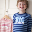 Big Or Little Sibling T Shirt