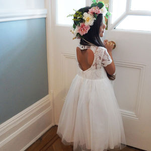 Cerri ~ Flower Girl | Christening Dress - flower girl dresses