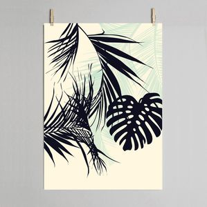 Tropical Leaf Fine Art Print