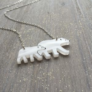 Mothers Day Mama Bear Necklace