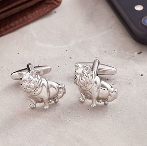 French Bulldog Cufflinks - cufflinks