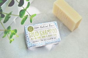 100% Natural Solid Shampoo Lavender And Tea Tree