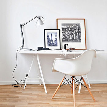 An Eames Style, Daw, Modernist Dining Or Office Chair