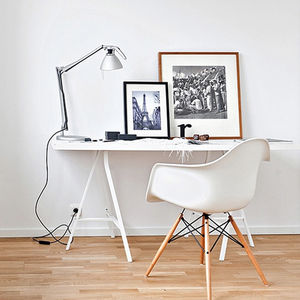 An Eames Style, Daw, Modernist Dining Or Office Chair - furniture