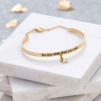 Be The Star That You Are Charm Bangle