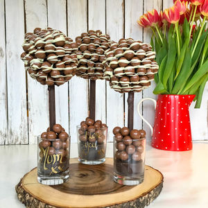 Personalised Malteser Chocolate Edible Tree - gifts for her
