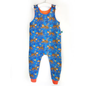 Tiger Organic Dungarees - gender neutral