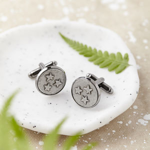 'Lucky Stars' Cufflinks - new in jewellery