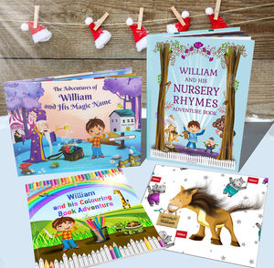Personalised Children's Books Keepsake Gift Set