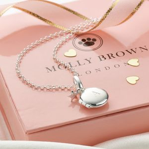 Personalised Locket With Little Star - modern christening gifts