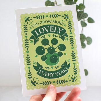Gardeners Birthday And Anniversary Card