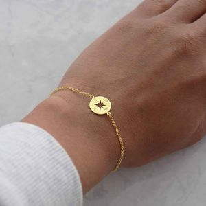 Nomadic Compass Bracelet - gifts for her