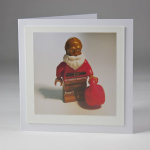 Set Of Four Fine Art Photo Christmas Cards