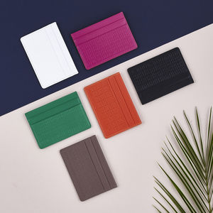 Leather Credit Card Holder - fashionista gifts