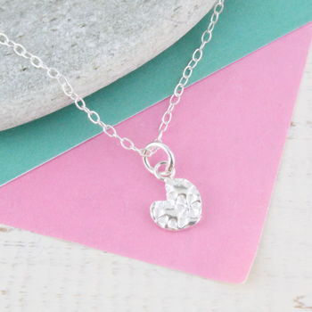 Personalised Mini Sterling Silver Heart Pendant