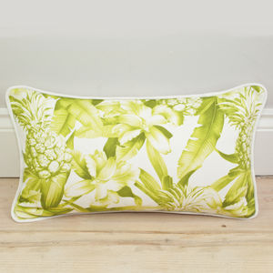 Pineapple Print Bolster Cushion - sale by category