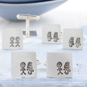 Bride And Groom Secret Message Wedding Cufflinks - cufflinks