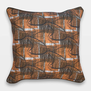 Midcentury Inspired Cushion 'Sedona' Design - new in home