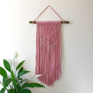 Children's Macrame Wall Hanging