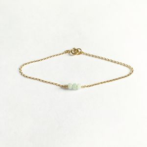 Gold Filled Amazonite Bracelet - bracelets & bangles