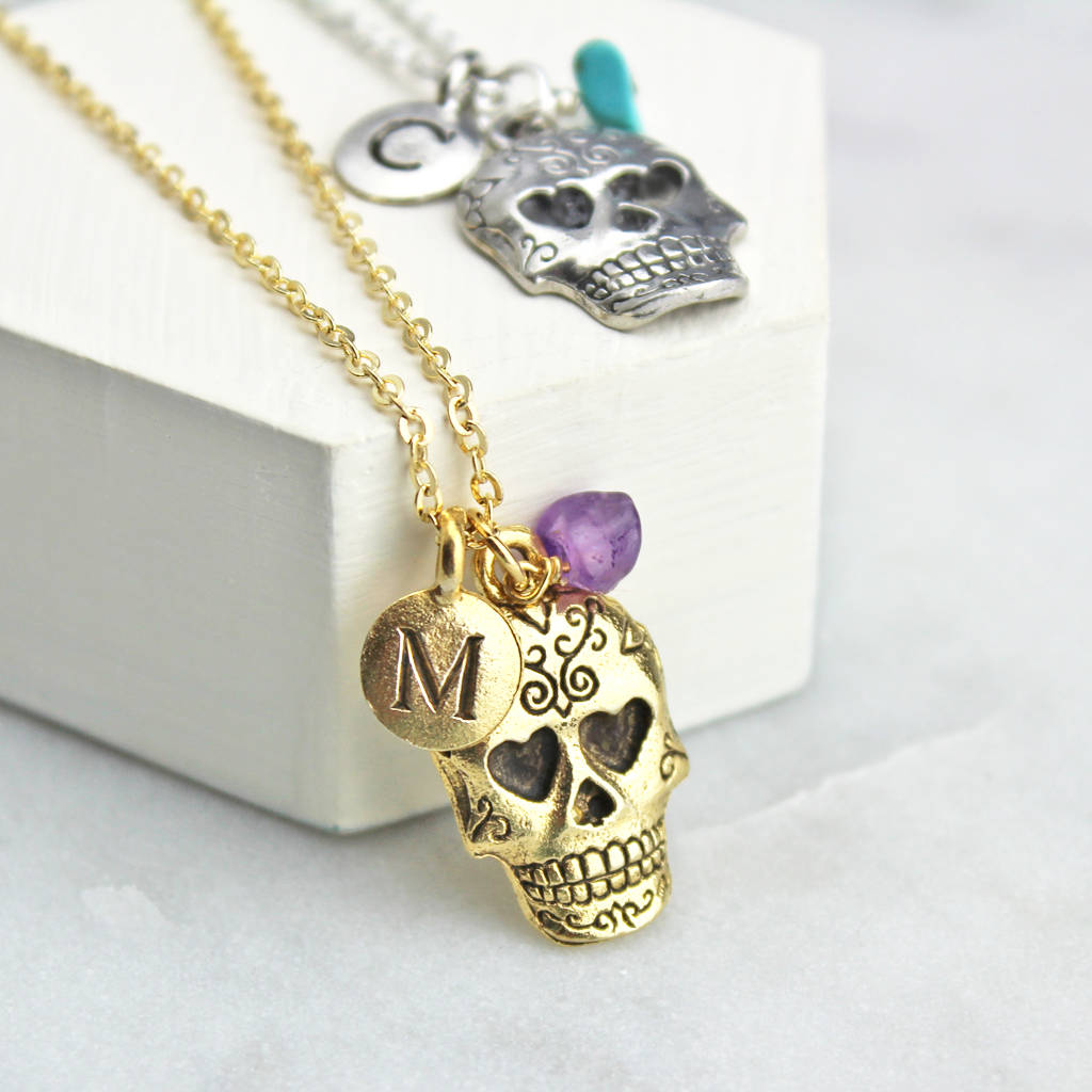 small products cristy cali sugar pendant skull