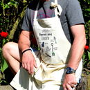 Personalised Bloomin' Good Gardening Apron