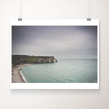 The Cliffs At Etretat Photographic Print