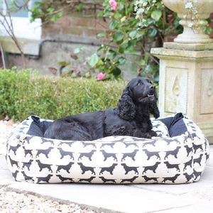 Large Spaniel Dog Bed - dogs