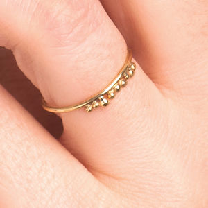 18k Gold 'Grain' Ring - gold