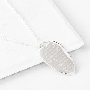 Buddha Quote Heart Pendant - gifts for her