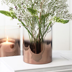 Copper Glass Vase