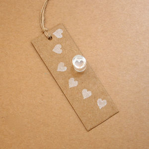 Tiny Heart Crystal Clear Stamp - shop by price