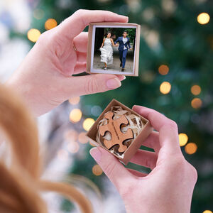 Personalised Photo Album Missing Piece Mini Token Gift