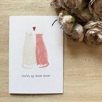 You're My Meow Meow Valentine's Day Card