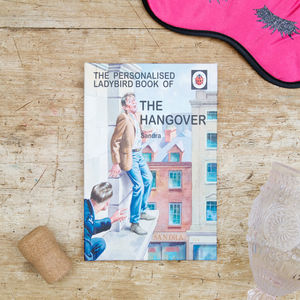 Personalised Ladybird Book: The Hangover - 21st birthday gifts