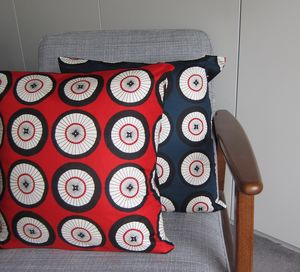 Wheel Print Cushion