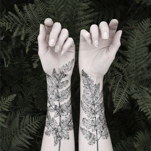 Nature Girl From The Forest Temporary Tattoos - nail & body art