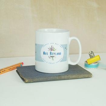 Personalised 'Wallpaper' Mug