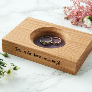 Personalised Trinket Dish - jewellery storage & trinket boxes