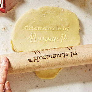 Personalised Rolling Pin Gift - gifts for bakers
