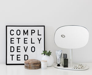 'Completely Devoted' Print - posters & prints