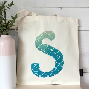 Personalised Mermaid Beach Tote - womens